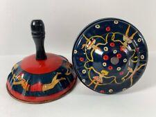 2 Vintage Kirchhof Rattle Noise Maker Swimming Bathing Beauty  & Ballerinas