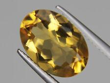 Citrine Oval Big Loose Gemstone VVS 14x10mm 5.36ct Natrual from Brazil