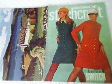 ORIGINAL, VINTAGE, STITCHCRAFT MAGAZINE,  SEPTEMBER 1967