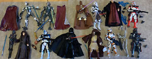 Hasbro Star Wars Modern 3.75 Action 16 Figure Lot Loose ORDER 66 Exclusives