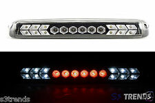 1999 - 2006 Chevy Silverado GMC Sierra LED 3rd Third Brake Light Lamp Black