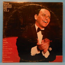 FRANK SINATRA'S GREATEST HITS VOL 2 LP '72 ORIGINAL GREAT CONDITION! VG++/VG+!!A