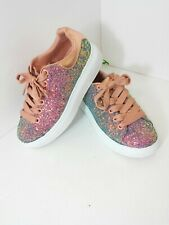 Skechers Street Los Angeles Women's Memory Foam Air Cooled Shoes Size 7 Sequins