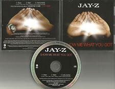 JAY Z Show Me What you got 3TRX CLEAN & INSTRUMENTAL PROMO DJ CD Single 2006