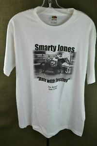 Rare 2004 Smarty Jones Date With Destiny Large Tee Shirt Belmont Stakes Kentucky