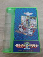 RARE 90'S MICRO TOYS MACHINES SERVICE CENTRE SET KIDMATE MICRO MACHINES SCALE