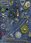 Absolutely+Broken+Vintage+Rhinestone+Parts+%26+Pieces+for+Crafts+Parts+not+Repair