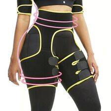 Neoprene Slim Thigh Trimmer Leg Shapers Slimming Belt Waist Trainer Sweat Shape