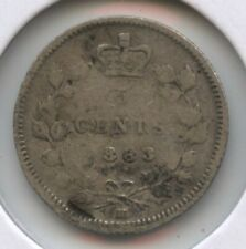 Canada 1883-H Coin - 5 Cents - Queen Victoria BC625