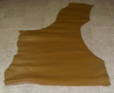 NHA8017-2) Part Hide of Finished Brown Cow Leather Hide Skin