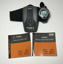 Timex Men's Watch T5B501 GPS Work Out Watch Speed + Distance System Fresh Batter