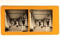 Francia Versailles Palacio Del Gran Trianon El Peristilo c1900 Foto Estéreo