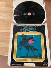 DISNEYLAND ZORRO FILMATION Family Home Entertainment film Production Video disc