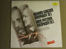 RICHARD WAGNER HANS PFITZNER SYMPHONY IN C LP '83 DG 2543817 IMPORT CLASSICAL NM