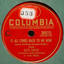 Kate Smith It All Comes Back to Me Now Female Vocal 78 NM A Little Old Church