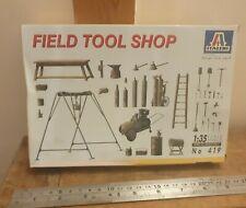 Italeri 1/35 Field tool Shop Kit