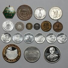 20TH CENTURY GREAT BRITAIN UNITED STATES VARIOUS MEDALS MEDALLIONS TOKENS