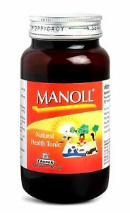 CHARAK MANOLL SYRUP STRENGTHENS BODY TISSUE AND IMMUNITY 400 ML