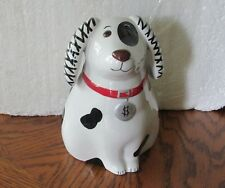 A Vintage Retired Fitz & Floyd Ceramic Dog Bank Collectable