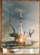 Soyuz TM-25 signed by A.Lazutkin landing parachute suspension line