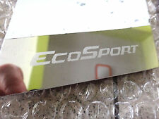 FOR NEW FORD ECOSPORT SUV 1.5L 2014 4DOOR PILLAR PILLARS PLATE STAINLESS STEEL