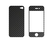 Carbon Cover für Iphone 4 Frontplate + Backplate  #489
