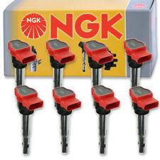 8 pcs NGK Ignition Coil for 2008-2015 Audi R8 4.2L V8 - Spark Plug Tune Up hy