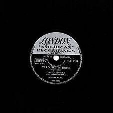 "DAVID SEVILLE 78 ""  ARMEN'S THEME / CAROUSEL IN ROME "" UK LONDON HLU 8359 EX/EX-"