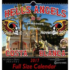 49 Hells Angels Support 81 Calendar  Limited Edition 2017 Big Red Machine