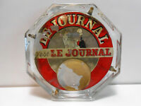 RAMASSE MONNAIE VERRE OCTOGONAL LE JOURNAL / LIBRAIRIE LIBRAIRE LIVRE