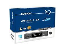 Edision OS Mio+ 4K UHD HEVC h.265 Dual Tuner Satellite FTA STB DVB-S2X  /S2 Grey