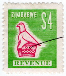 (I.B) Zimbabwe Revenue : Duty Stamp $4