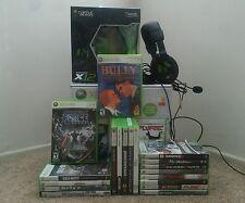 Xbox 360 ELITE 20 Games Bundle Controller Chatpad