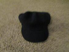 womans beanie hat black one size