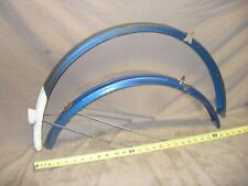 """Front & Rear Bike Fenders with Braces From Hercules 26"""" Wheel Bicycle (RS4-4)"""