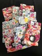 Lot of 9 Cutebone Female Dog Diapers Floral Washable Size S