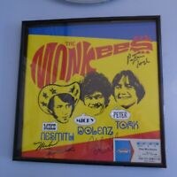 AUTOGRAPHED all 3 MONKEES Peter Tork Mike Nesmith Dolenz 2013 Program Signed