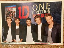 One Direction, This is Us, Full Page Promotional Ad