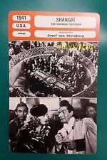 US Film Noir The Shanghai Gesture Gene Tierney French Film Trade Card