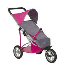 Chicco Cortina 3 Ruote Bambole Carrozzina Bambine Passeggino Passeggino giocattolo pieghevole