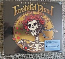 THE BEST OF THE GRATEFUL DEAD [2 CDs, 2015, Rhino] NEW! w/ RARE EMBOSSED COVER
