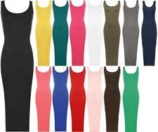Viscose Solid Maxi Dresses for Women