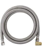 Certified Appliance DW60SSBL Braided Steel Dishwasher Hose w/Elbow 5ft long NWT