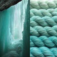GRADIENT YARN - merino superwash handdyed yarn 300g- Aran weight