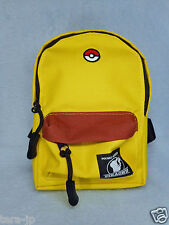 Pokemon Pikachu Backpack style Pouch w/Carabiner Japan