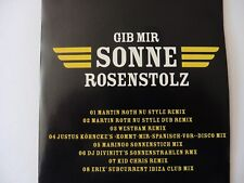 Rosenstolz Gib mir Sonne Dance Mixes Promo Maxi-CD   8 Tracks   2008  ultra rar!