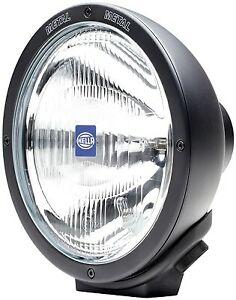 Hella Black Luminator Halogen Driving Lamp with Side Light