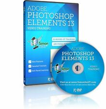 Learn Adobe Photoshop Elements 13 Video Training Tutorials - 15 Hours DVD NEW