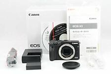 Canon EOS M3 Black 24.2MP Mirrorless Digital Camera Body Excellen From JP USED
