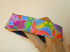Butterfly Mosaic 2 Inch Custom Made Martingale Dog Collar